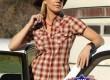 Дамска риза с къс ръкав Шери (Sherry)