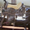 Уестърн седло направено по поръчка