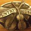 "Бяла катарама ""Country music"""